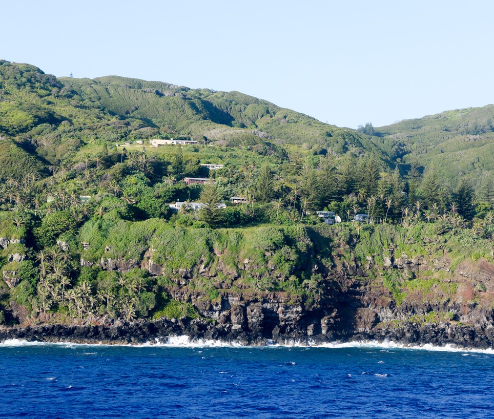Pitcairn Residential Area